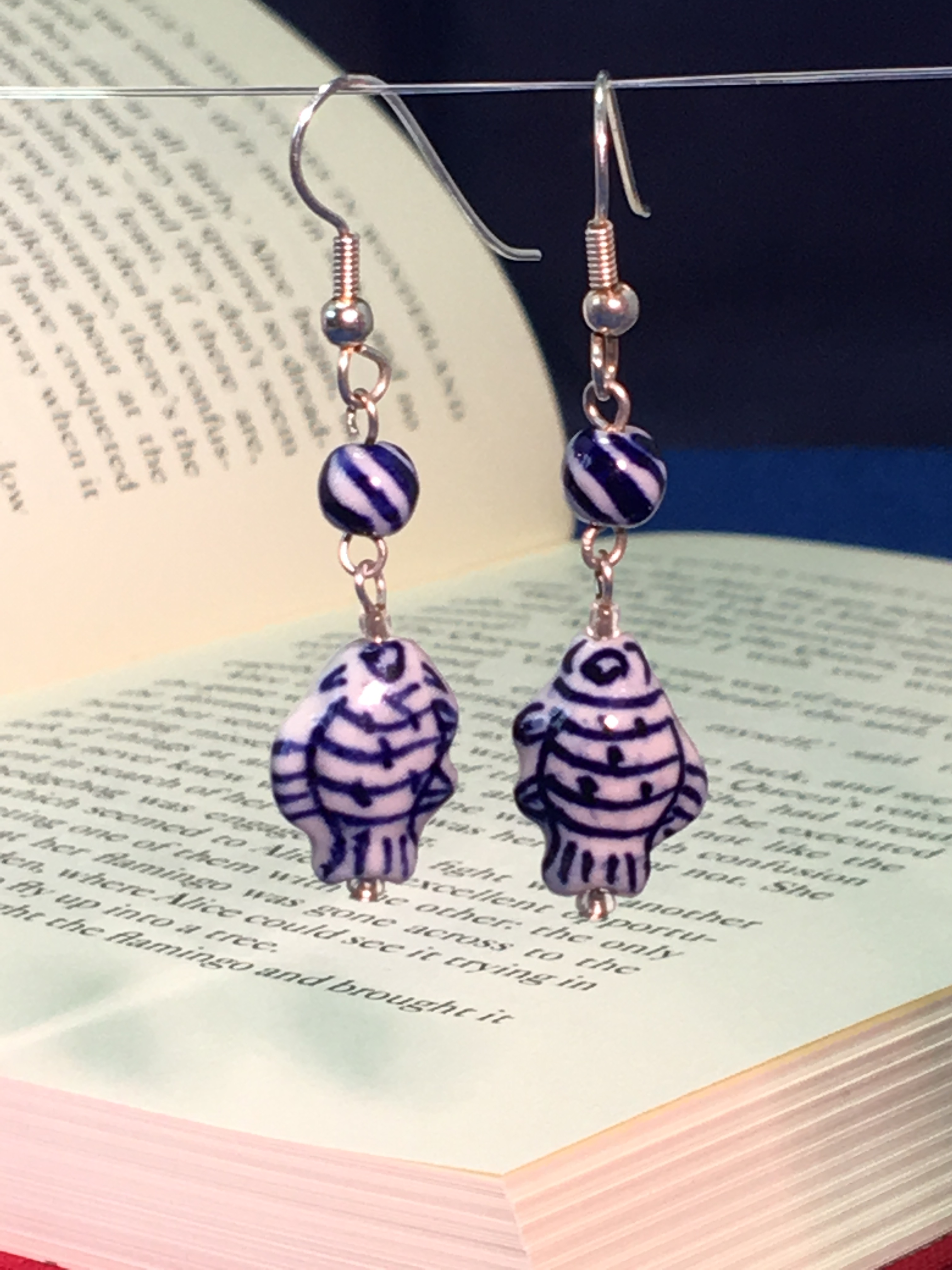 felicity fish earrings