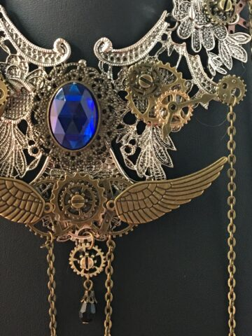 debbie steampunk necklace