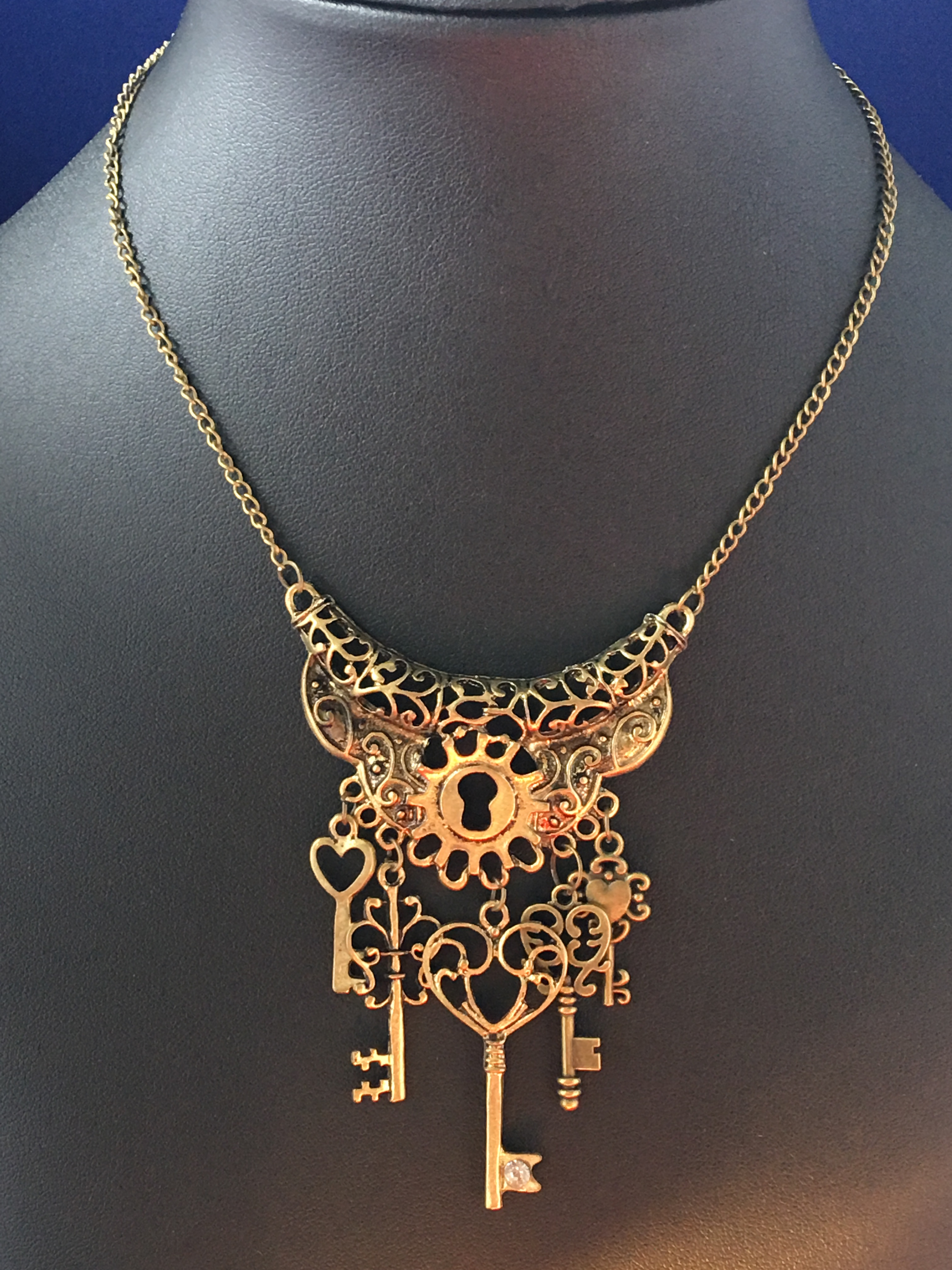 keeley steampunk necklace