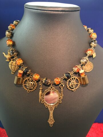 lisa steampunk necklace