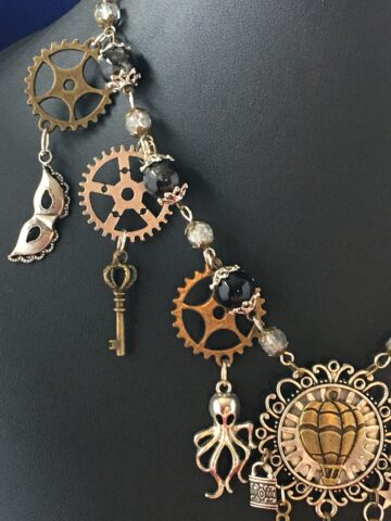 natalie steampunk necklace